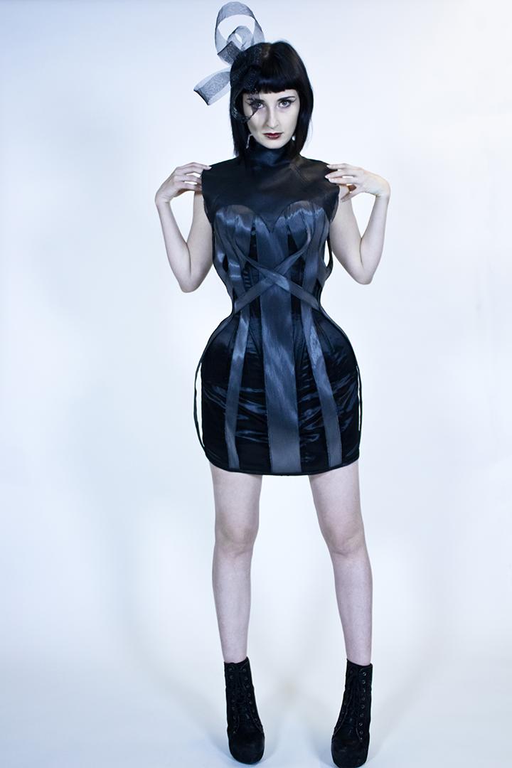 Rachael-Reichert-fiber-optic-corset-dress