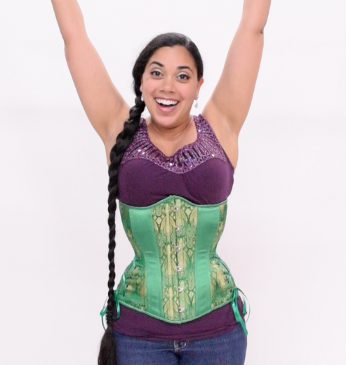 dc7536b4fa7 Timeless Trends Hourglass Longline Corset Review. Lucy Green Hourglass  Longline