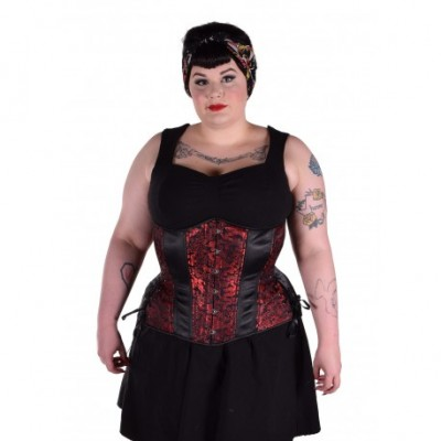 Hourglass Red Black Dragon Longline