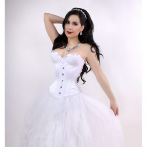 White-Bridal-Hourglass-Corset