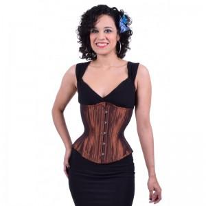 Hourglass Copper corset
