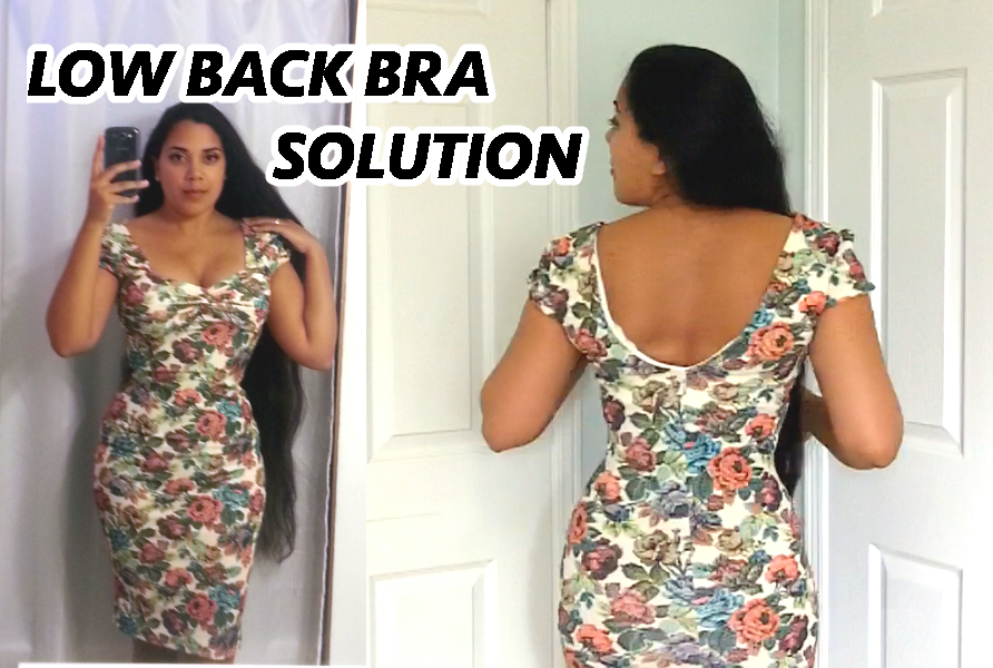 Corset And Strapless Bra: Low Back Solution For Fuller Busts!