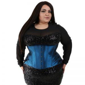 shiny-blue-long-corset